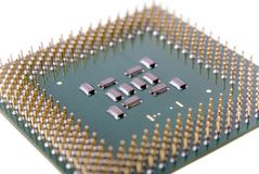 Micro Processor Royalty Free Stock Photo
