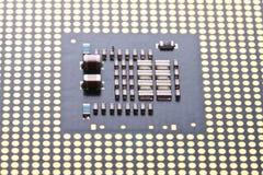 Micro processor close up Stock Photos