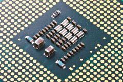 Micro processor pattern Stock Image