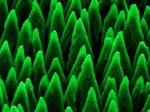 Micro-puntos en el silicio Fotografía de archivo libre de regalías