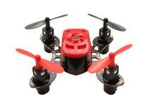 Micro quadcopter fotografia stock