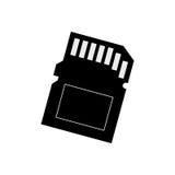 Micro SD memory card Royalty Free Stock Photography