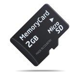 Micro SD memory card Stock Photography