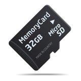 Micro SD memory card Stock Photo