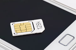 Micro sim Royalty Free Stock Images