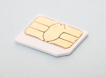 Micro SIM Royalty Free Stock Photos