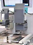 Micro strumentazione di fabbricazione elettronica Fotografia Stock Libera da Diritti