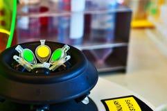 Micro tubos de centrifugador Fotografia de Stock Royalty Free