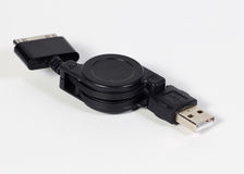 Micro usb cable Royalty Free Stock Photo
