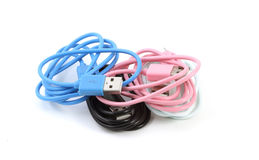 Micro USB Data Charging Sync Cable Royalty Free Stock Images