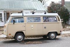 Micro- van Volkswagen Antieke Bus Stock Foto
