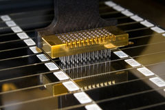 microarray εκτυπωτής Στοκ φωτογραφία με δικαίωμα ελεύθερης χρήσης