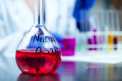 Microbiological laboratory equipments. Stock Images