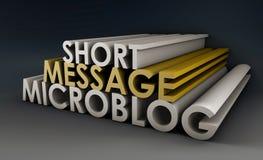 Microblog Stock Photography