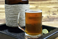 Microbrew Beer Royalty Free Stock Photography