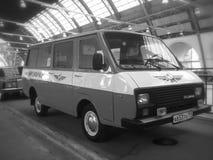 Microbus RAF-2203 Stock Photo