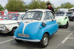 Microcar BMW Isetta 300 Royalty Free Stock Images
