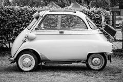 Microcar BMW Isetta 300. Stock Photography