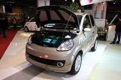 The Microcar M.Go electric car Stock Photography