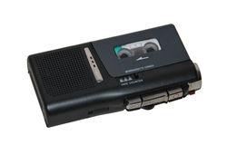 Microcassette recorder Royalty Free Stock Photos