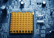 Microchip Royalty Free Stock Photography
