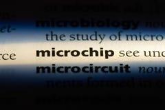 microchip royaltyfri foto