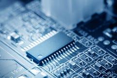 Microchip Stock Photo