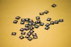 Microchip Fotografia Stock Libera da Diritti