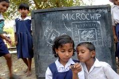 Microchip Immagine Stock Libera da Diritti