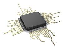 Microchip ilustração do vetor