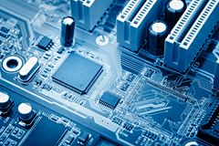 microchip Arkivfoton