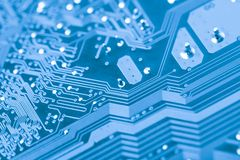 The microchip Royalty Free Stock Image