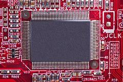 microchip Imágenes de archivo libres de regalías