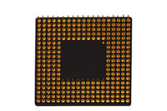 Microchip. Chip, prozessor, processor, cpu Stock Images