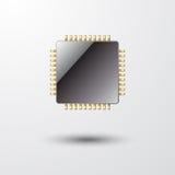 microchip Royalty-vrije Illustratie