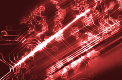 Microchip background Stock Images