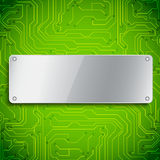 Microchip background Royalty Free Stock Photos