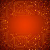 Microchip background Royalty Free Stock Images