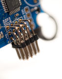 Microchip board Royalty Free Stock Photo