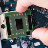 Microchip da sostituire Immagine Stock Libera da Diritti