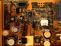 Microchip del videocard Foto de archivo libre de regalías