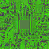 Microchip do microprocessador do processador central Foto de Stock Royalty Free