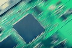 Microchip. Stock Image