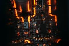 Microchip integrado dos componentes eletrônicos de Smd imagem de stock royalty free