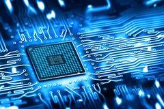 Microchip integrato Fotografia Stock