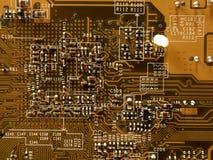 Microchip van videocard, II Stock Afbeelding