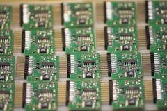 Microchipes Imágenes de archivo libres de regalías