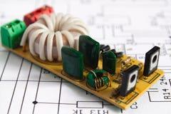 microchipes Fotografía de archivo libre de regalías