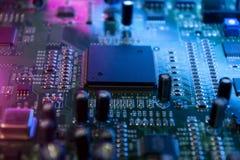 microchips Royaltyfria Bilder