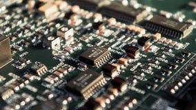 microchips Royaltyfri Fotografi